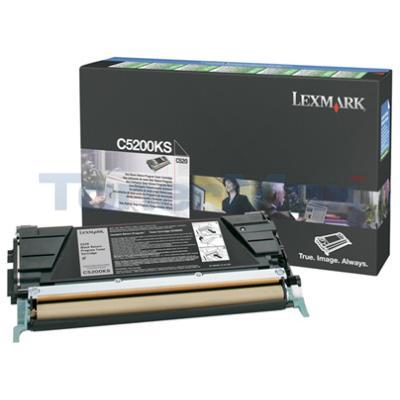 LEXMARK C520 C530 TONER CARTRIDGE BLACK RP